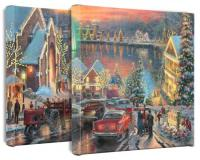 Lights of Christmas Town Set of 2