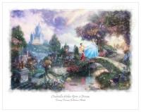 Disney Sketches Cinderella Wishes Upon a Star