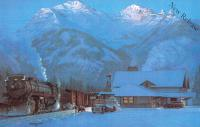 Banff Station - Winter