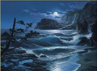 Moonlit Sea
