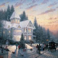 Victorian Christmas - nightlight
