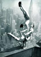 Acrobats on Empire State Building Beam