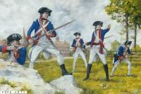 2nd Maryland Regiment at the Guildford Courthouse, 1781