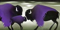 Purple Cloud Bisons