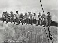 Rockefeller Center 1932 - Lunch on a Skyscraper